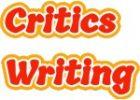 critics writing